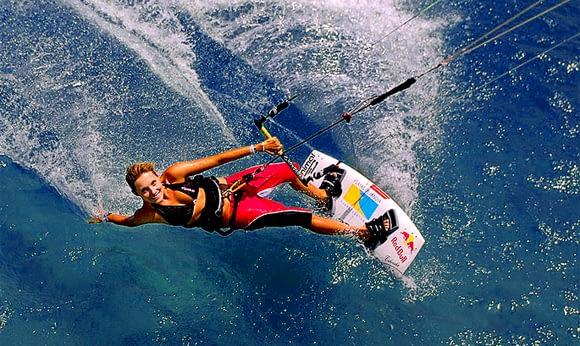 Kitesurfing in Rhodes