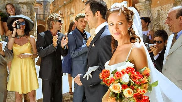 The Greek big, fat wedding