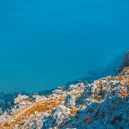 View from Feraklos Castle