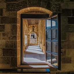 Grand Master's Palace window